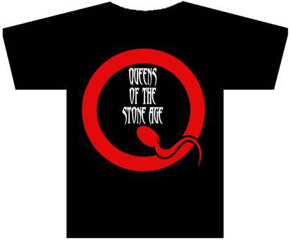 "QUEENS OF THE STONE AGE""Logo"" TS"
